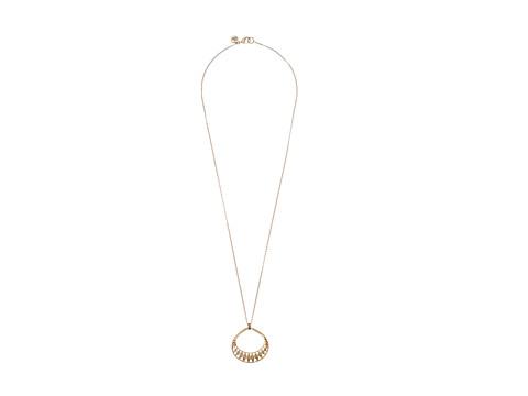 The Sak Blush Openwork Pendant Necklace - Gold