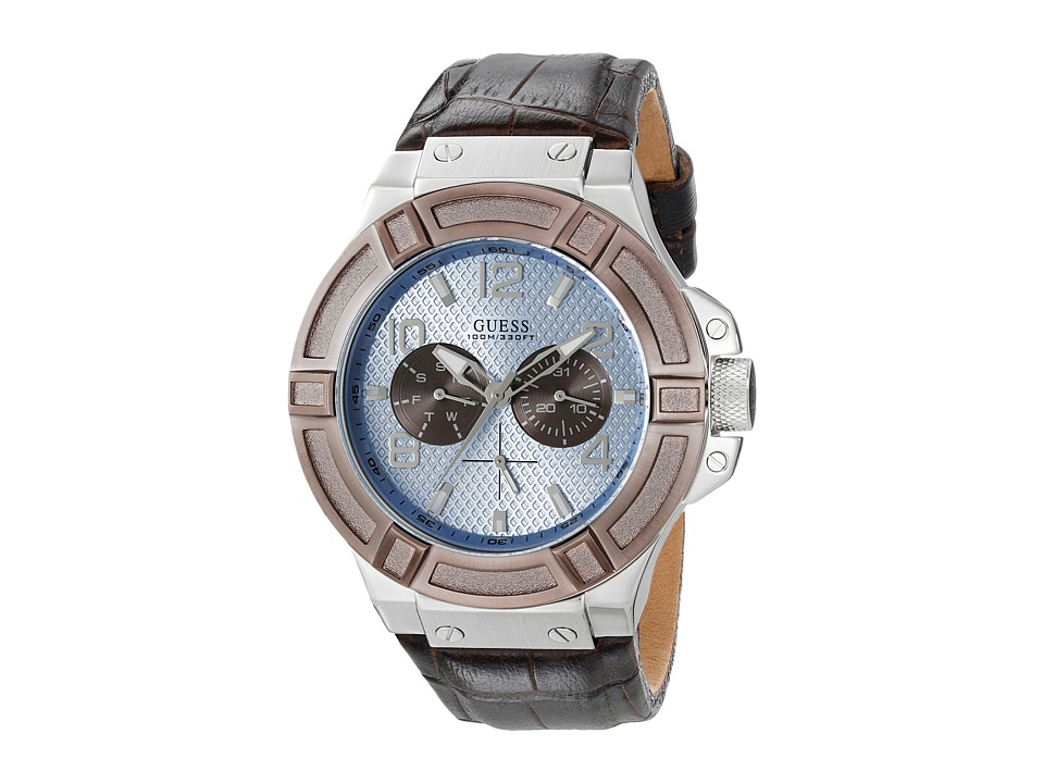 GUESS U0040G10 Brown/Blue Watches
