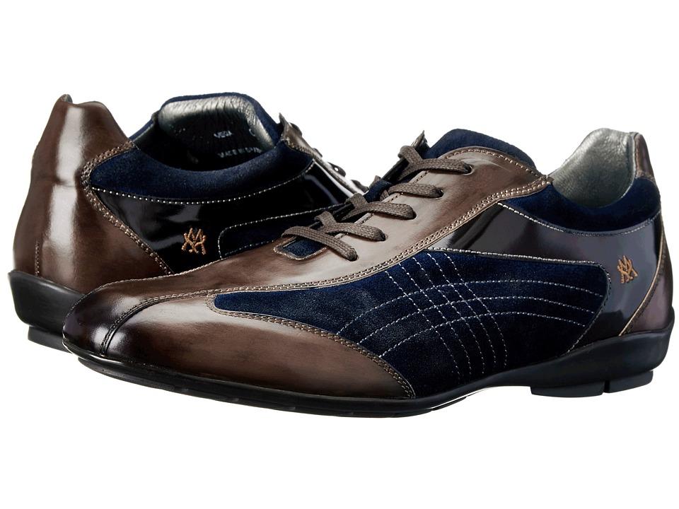 Mezlan - Vega (Brown/Navy) Mens Lace up casual Shoes