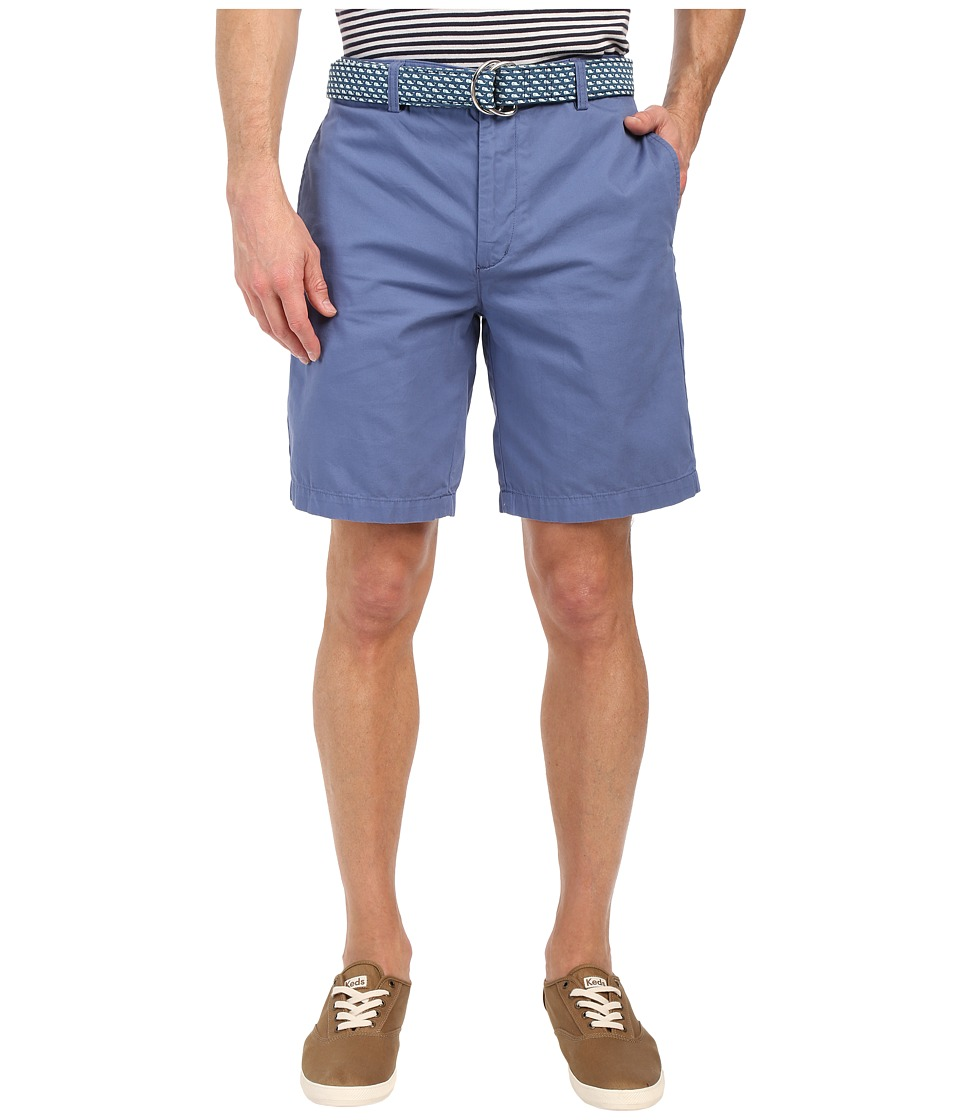 Vineyard Vines 9 Classic Summer Club Shorts Flag Blue Mens Shorts