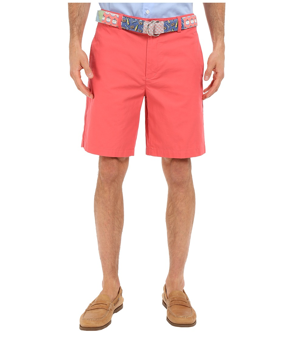 Vineyard Vines 9 Classic Summer Club Shorts Jetty Red Mens Shorts