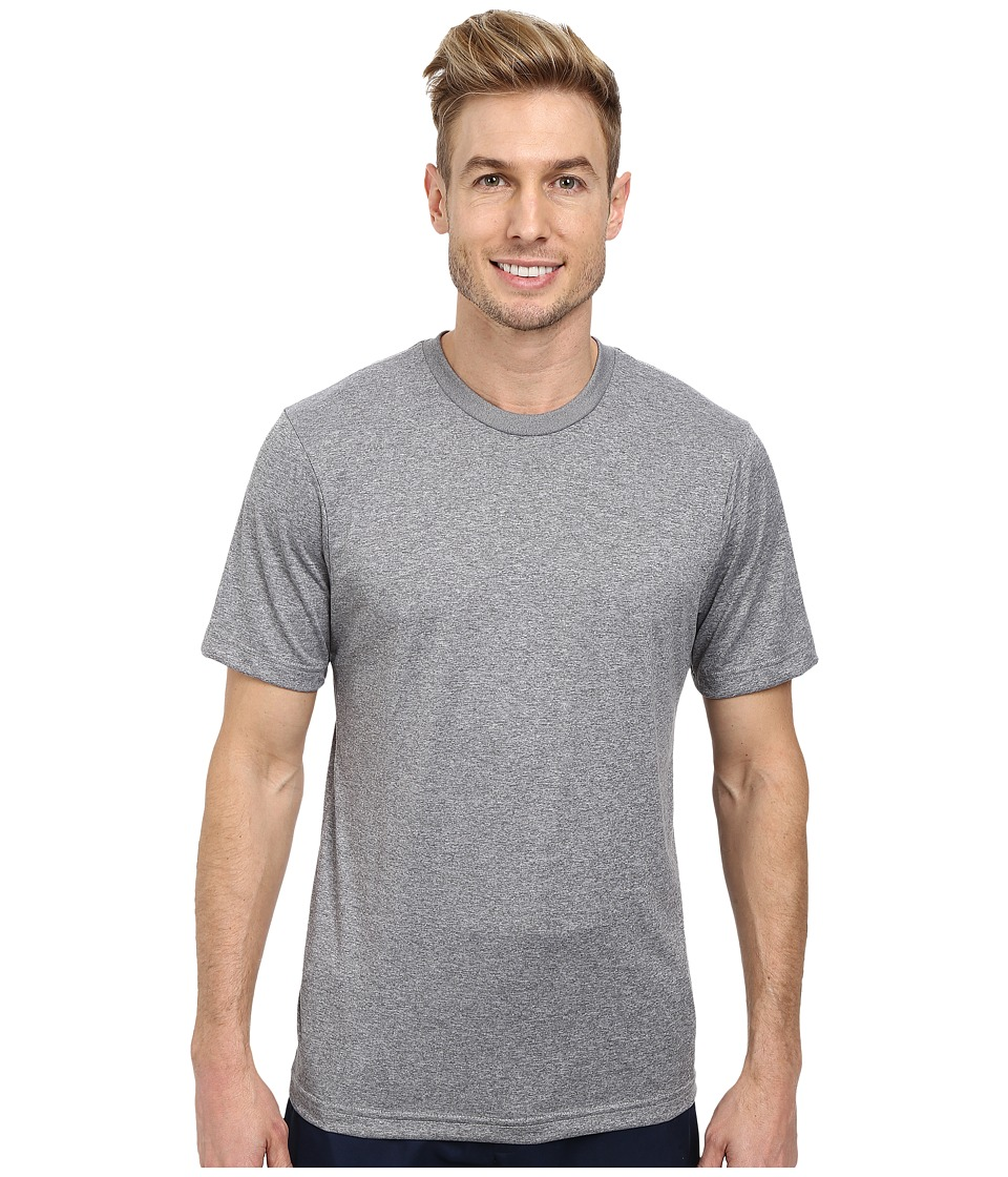 TravisMathew Cannon Tee Heather Monument Mens Short Sleeve Knit