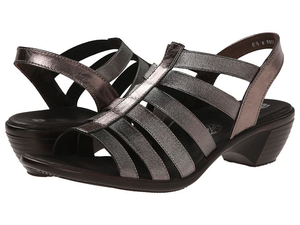 ara - Peony (Titan Metallic Calf/Stretch) Women's Sandals