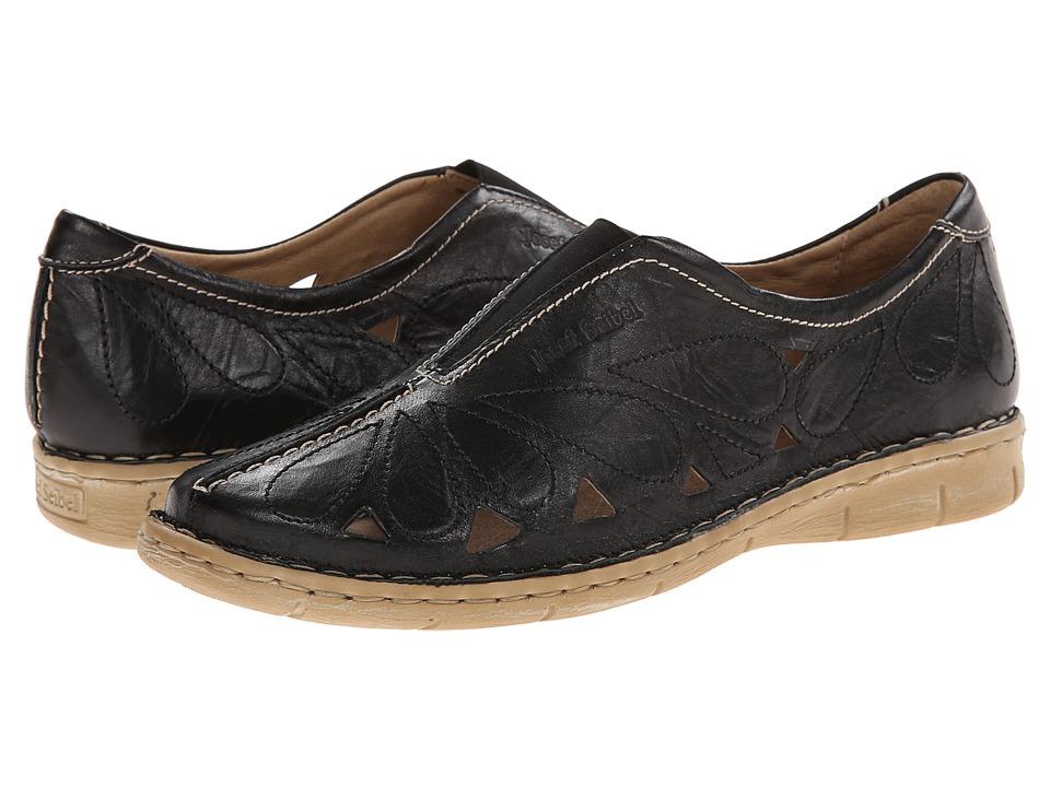 Shop Josef Seibel online and buy Josef Seibel Amanda 13 Black Bozen Womens Slip on  Shoes shoes online