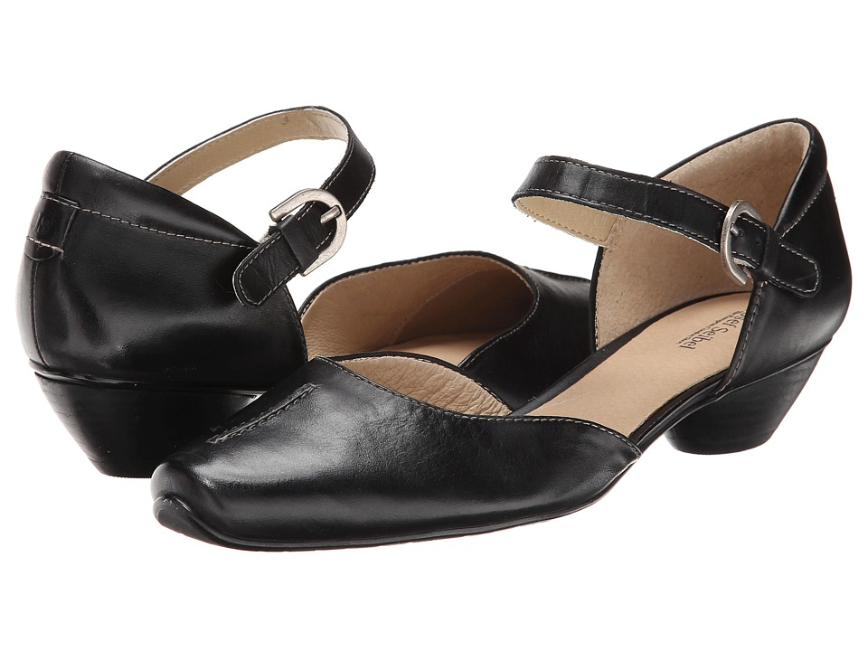 Josef Seibel Tina 17 (Black Equipe) 1-2 inch heel Shoes