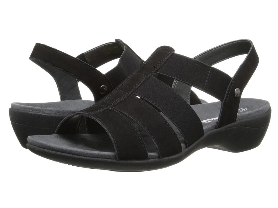 Romika Palma 05 Black Cow Nubuk Womens Shoes