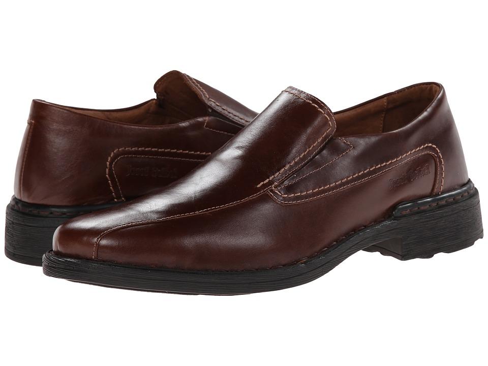 Josef Seibel - Samuel (Marone Roma) Mens Slip-on Dress Shoes