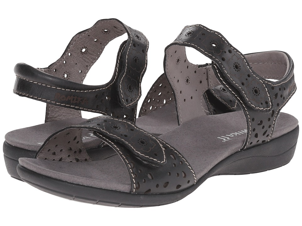 Romika - Tahiti 03 (Black Surf) Womens  Shoes