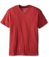 Tommy Hilfiger Kids - Tommy CVC V-Neck Tee (Big Kids)