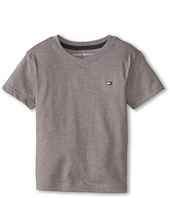 Tommy Hilfiger Kids - Tommy CVC V-Neck Tee (Toddler/Little Kid)