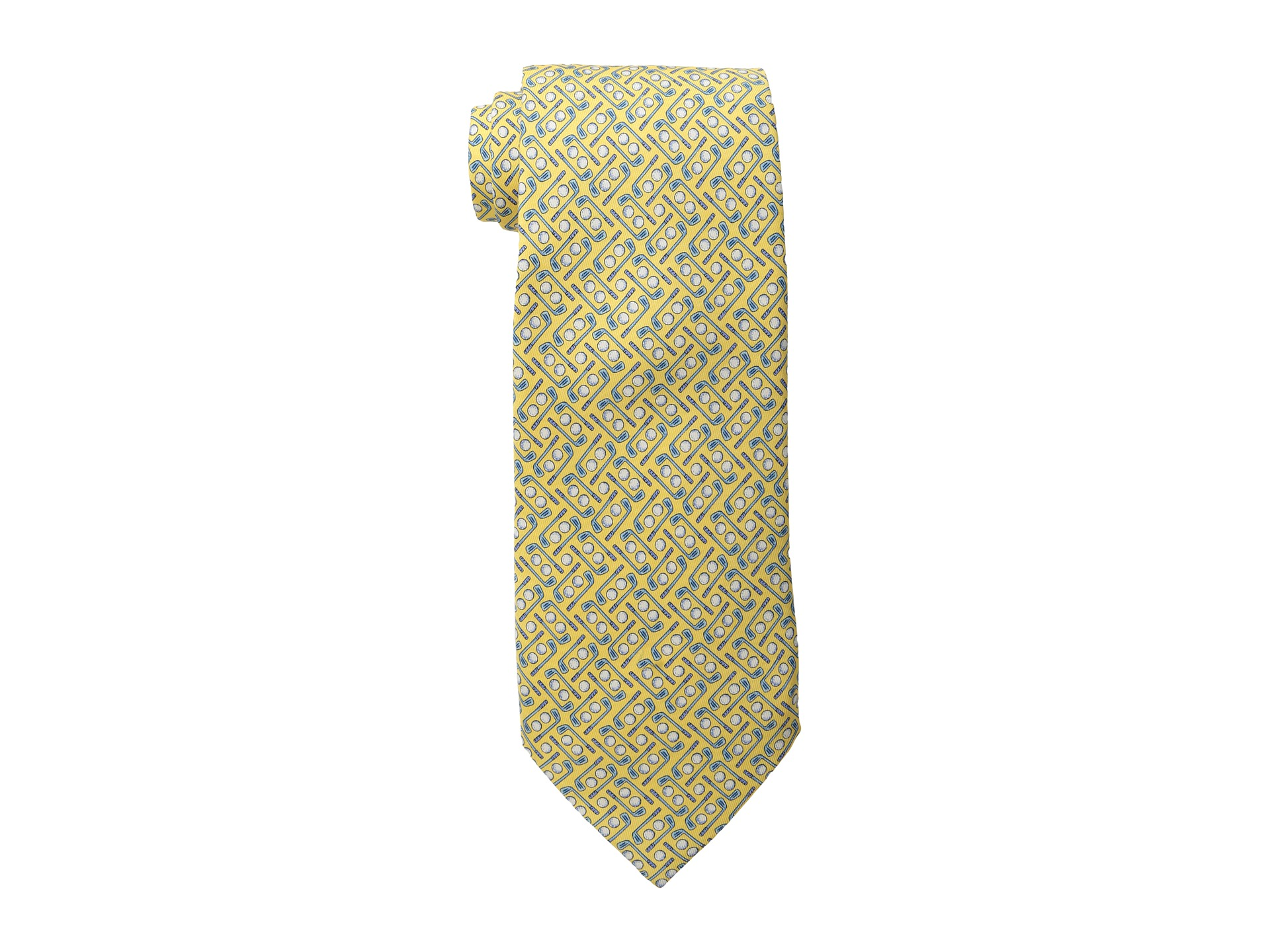 vineyard vines golf printed tie