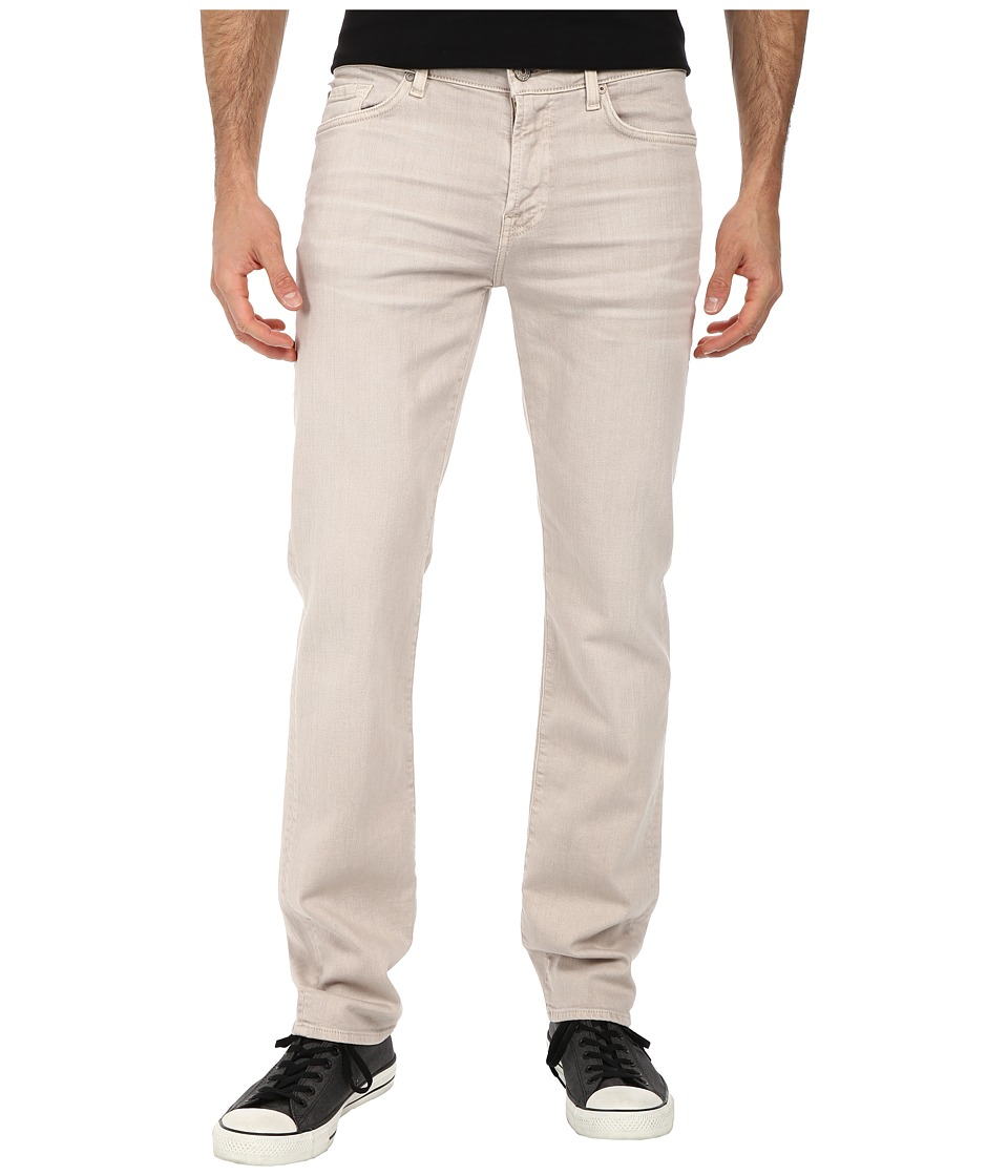 7 For All Mankind - Luxe Performance Slimmy Slim Straight in Twill Colors (Light Khaki) Mens Casual Pants