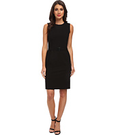 Calvin Klein - Belted Sheath Dress