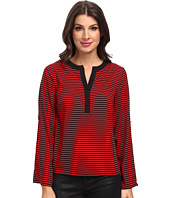 Calvin Klein - Striped Roll Sleeve Blouse