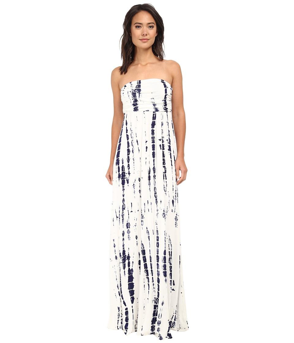 Culture Phit Hally Dress (White/Navy Tie-Dye) Women