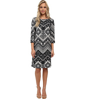 Christin Michaels - Susan Print Shift Dress