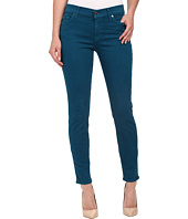 7 For All Mankind - The Ankle Skinny in Nautical Teal