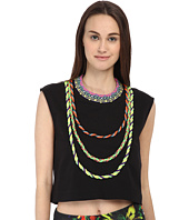 LOVE Moschino - Woven Trim Sleeveless Crop Top