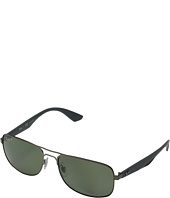 Ray-Ban - RB3524 Polarized 57mm