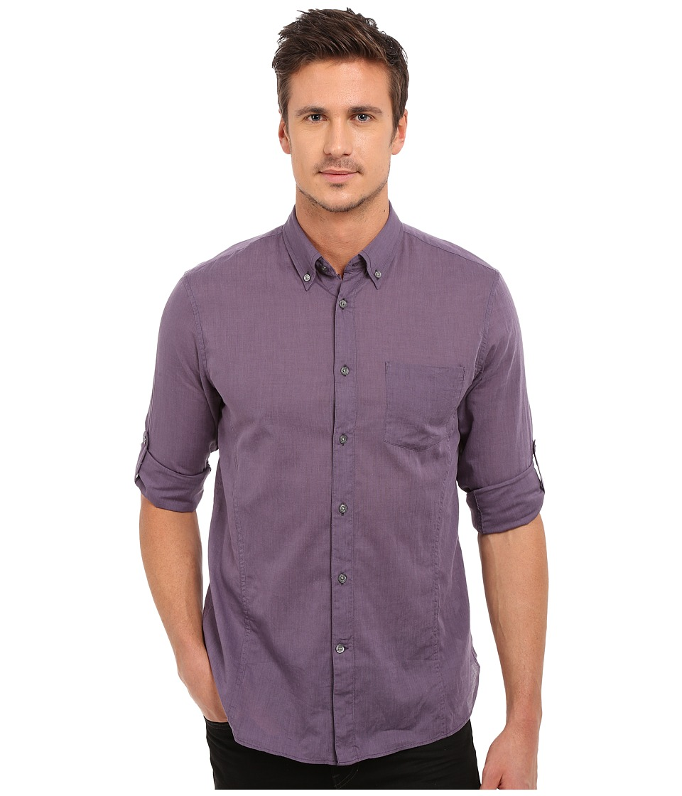 John Varvatos Star U.S.A. - Roll Up Sleeve Shirt w/ Button
