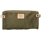 Will Leather Goods Wax Canvas Travel Kit (Olive)
