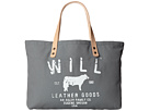 Image of Will Leather Goods - Carry All (Grey) Satchel Handbags