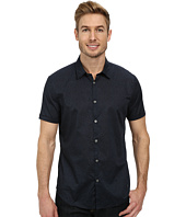 John Varvatos Star U.S.A. - Cuffed Short Sleeve Shirt