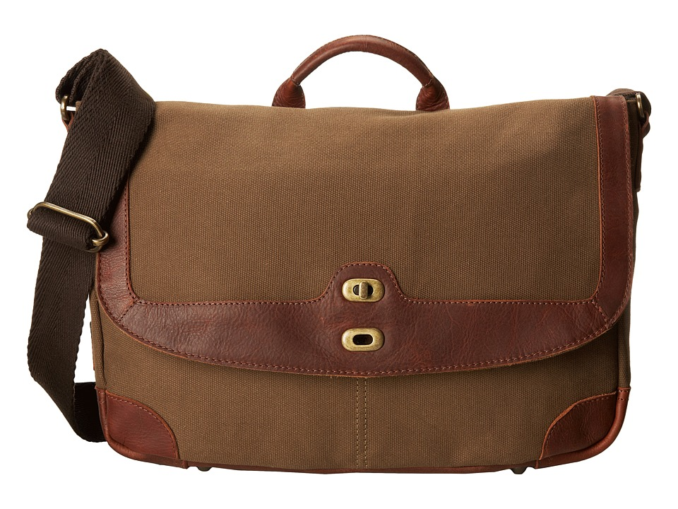 Will Leather Goods - Dennis Messenger (Tabacco/Cognac) Messenger Bags