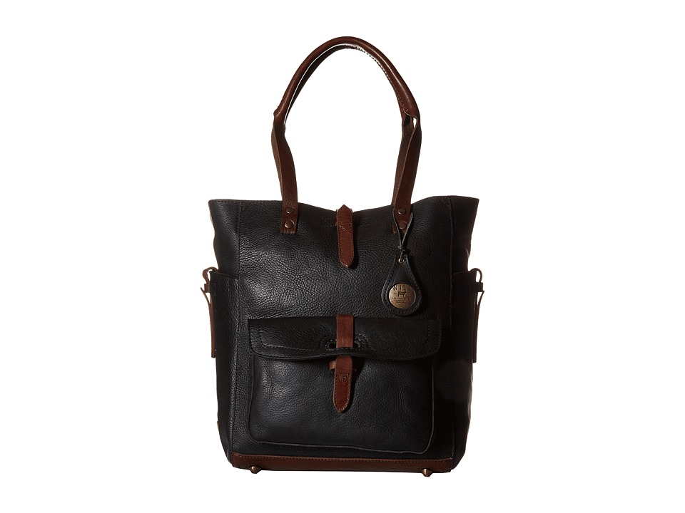 Will Leather Goods Ashland Tote Black Tote Handbags