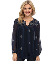 Lucky Brand - Floating Embroidered Top