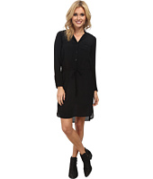 Lucky Brand - Black Shirt Dress