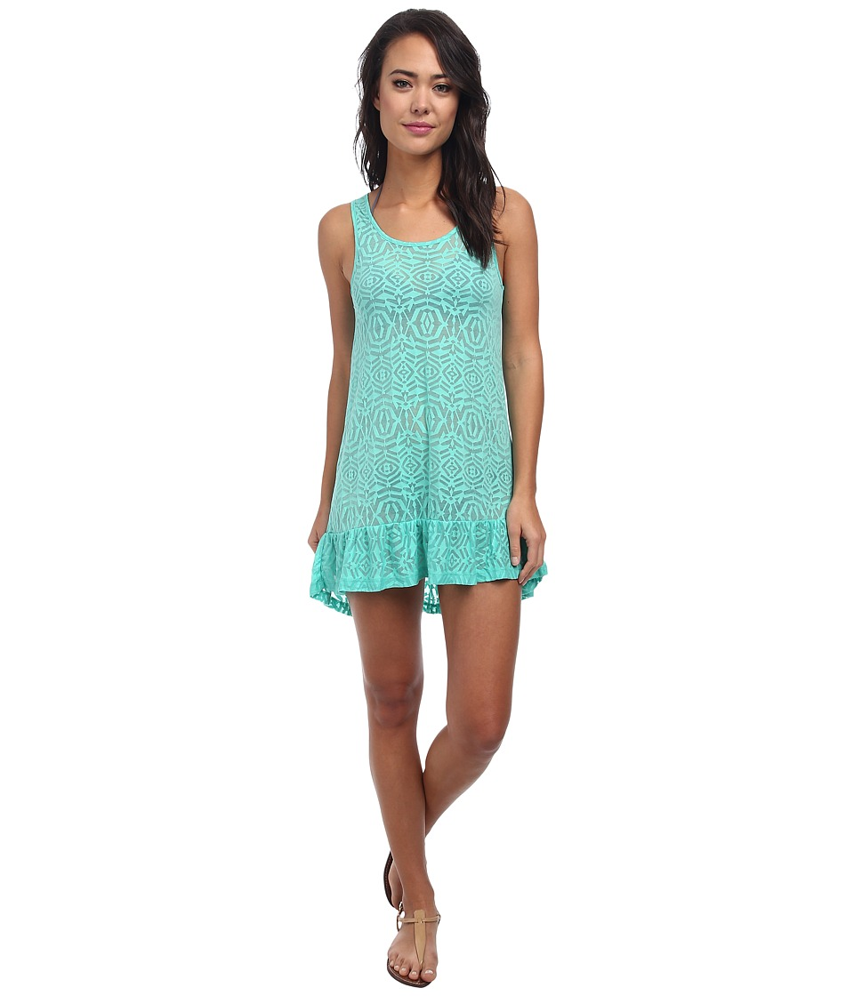 Body Glove Ariel Tank Dress Cover Up Lagoon Womens Swimwear