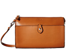 Lodis Accessories Audrey Vicky Convertible Crossbody Clutch (Toffee/Chocolate)