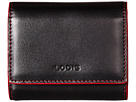 Lodis Accessories Audrey Accordion Card Case (Black/Red)