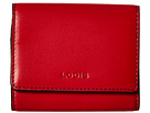 Lodis Accessories Audrey Accordion Card Case (Red/Black)