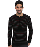 7 For All Mankind - Multi Stripe Henley Sweater