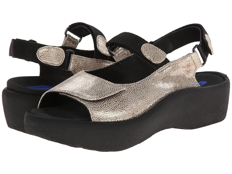 Wolky Jewel Beige Womens Sandals