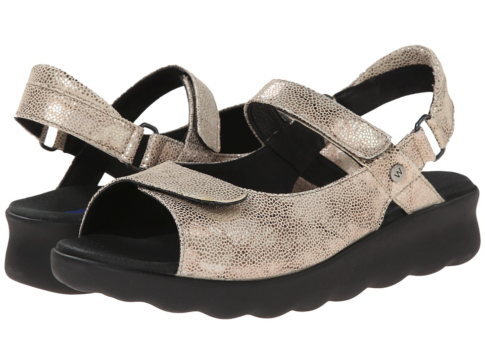 Wolky Pichu Beige Womens Sandals