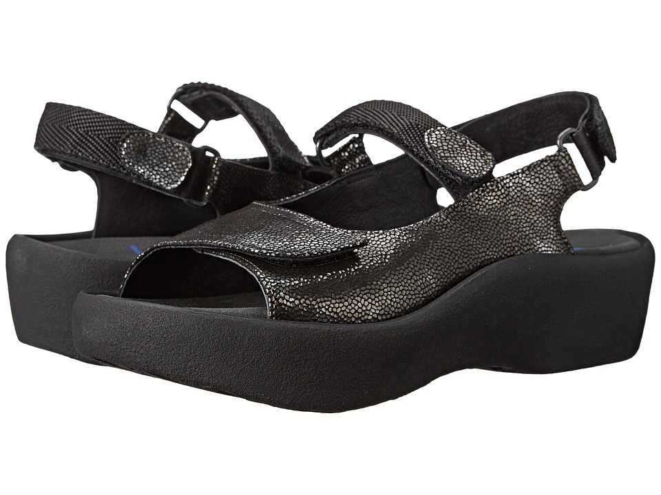 Wolky Jewel (Black) Sandals