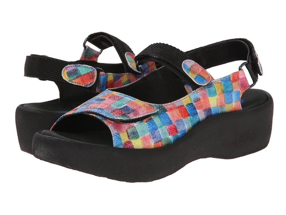 Wolky Jewel Multi Womens Sandals