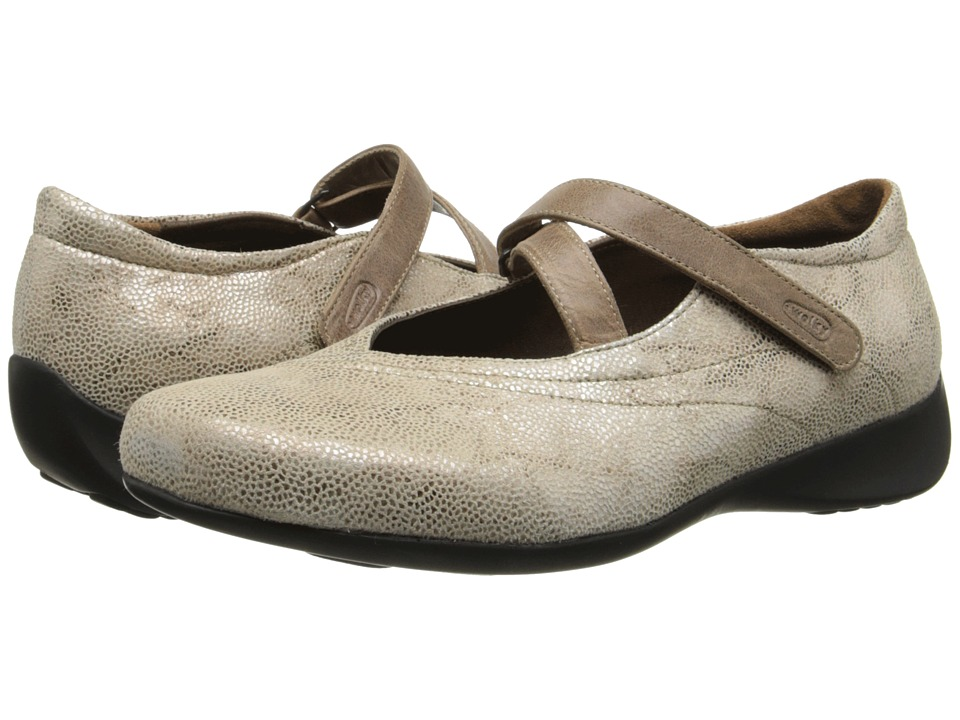 Wolky Passion Beige Womens Hook and Loop Shoes