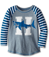 Hatley Kids - Sharks Raglan Tee (Toddler/Little Kids/Big Kids)