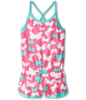 Hatley Kids - Graphic Butterflies Sporty Romper (Toddler/Little Kids/Big Kids)
