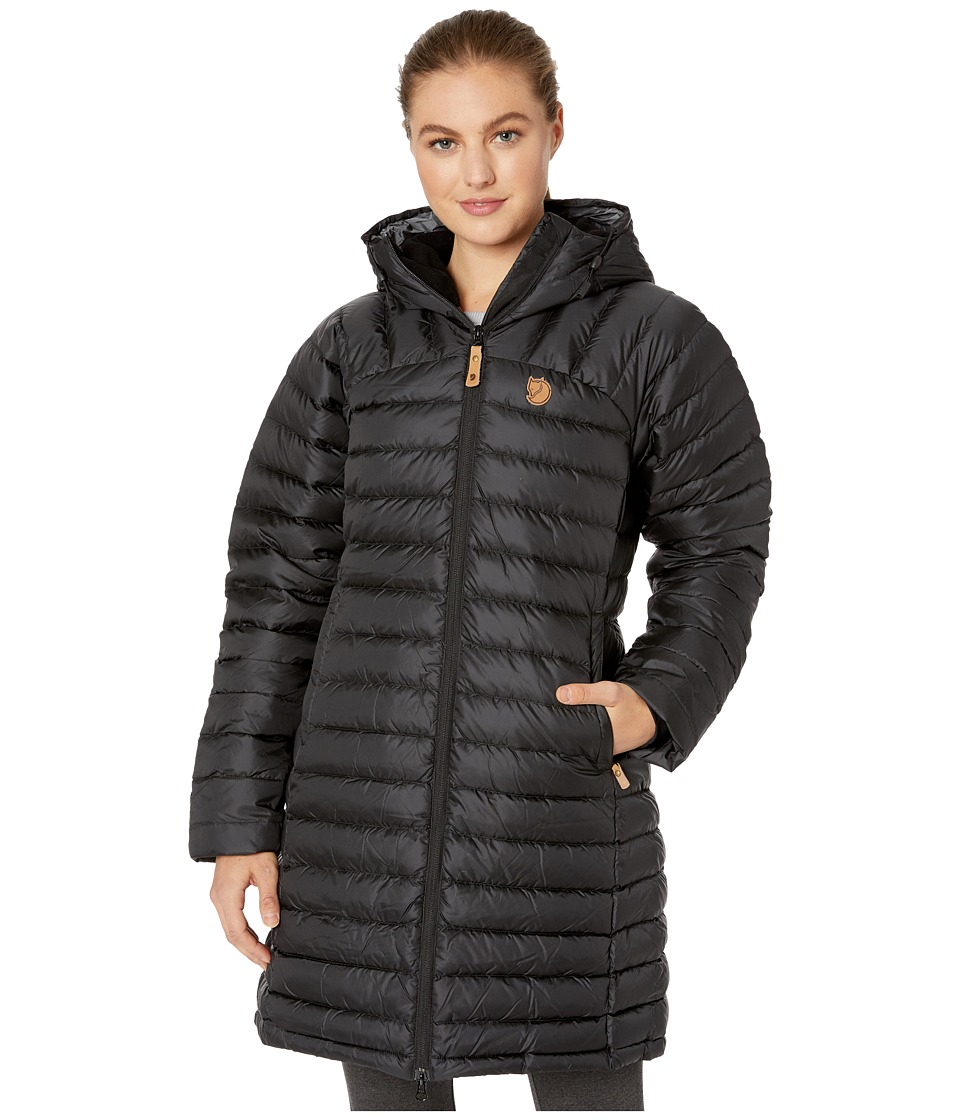 Fjallraven - Snow Flake Parka (Black) Womens Coat