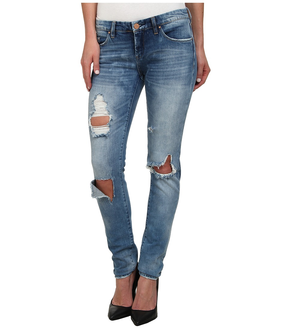 Blank NYC Denim Distressed Skinny in Good Vibes (Good Vibes) Women