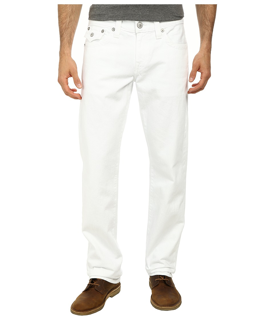 True Religion - Ricky Straight in Optic White (Optic White) Men's Jeans