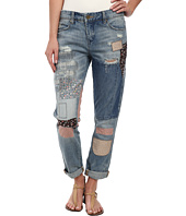 Blank NYC - Denim Multicolor Patchwork Skinny in Patch Things Up