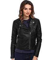 Levi's® - Faux Leather Fashion Moto Jacket w/ Racer Collar