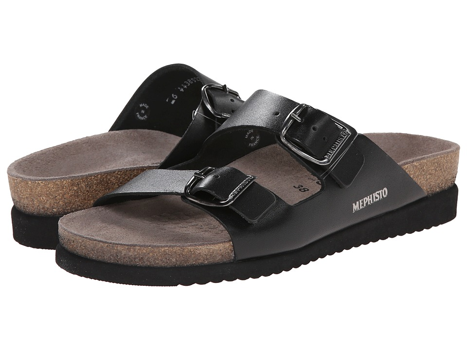 Mephisto - Harmony (Black Waxy) Women's Sandals