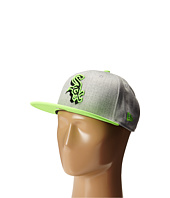 New Era - Neon Logo Redux Chicago White Sox Heather Gray/Green